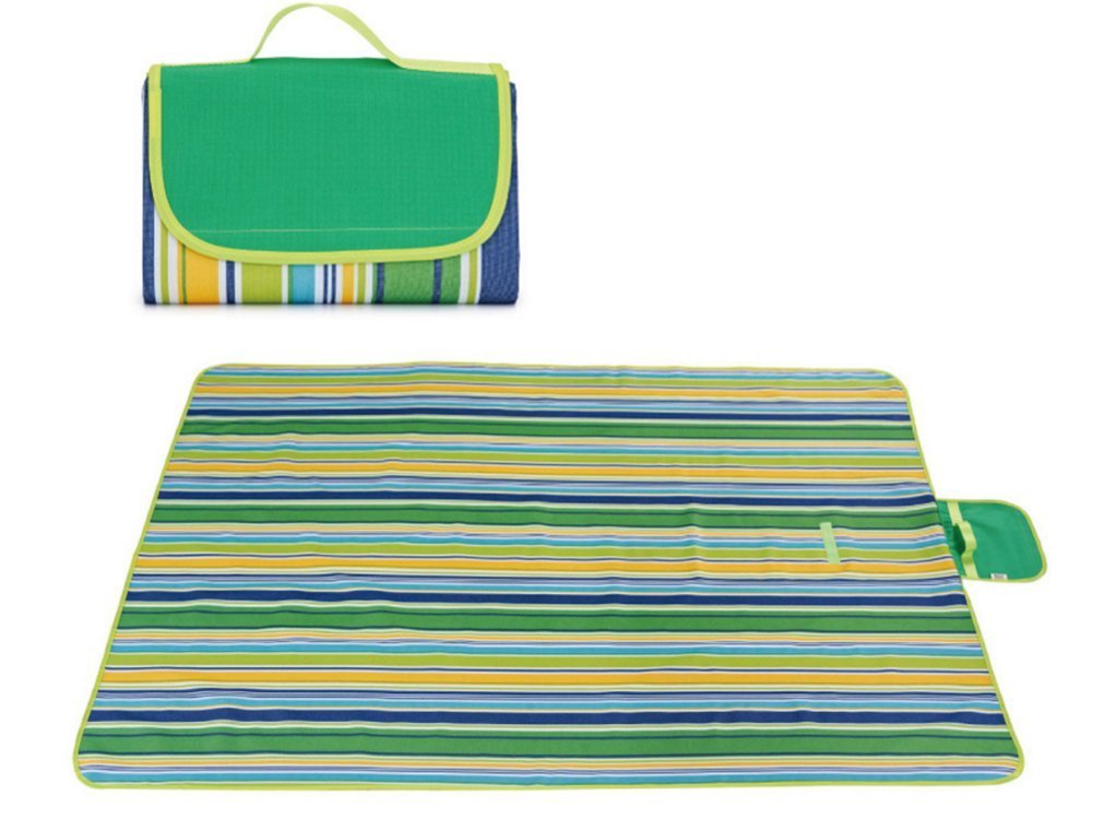 4 XL Family Picnic Blanket With Tote Extra Large Foldable And Waterproof Camping Mat Tent Rug Spring Summer Perfect For Outdoor Beach Hiking Grass Travel Hiking