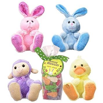 Amazoncom Easter Basket Fillers 4 Big Foot Plush Easter