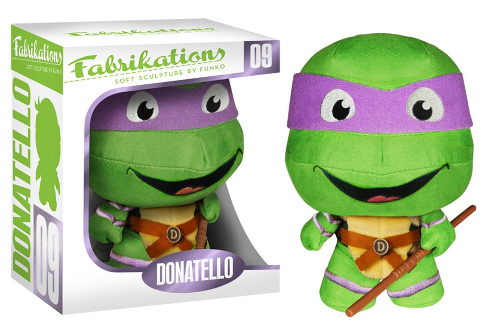 Funko Tortugas Ninja Peluche Fabrikations Donatello ...