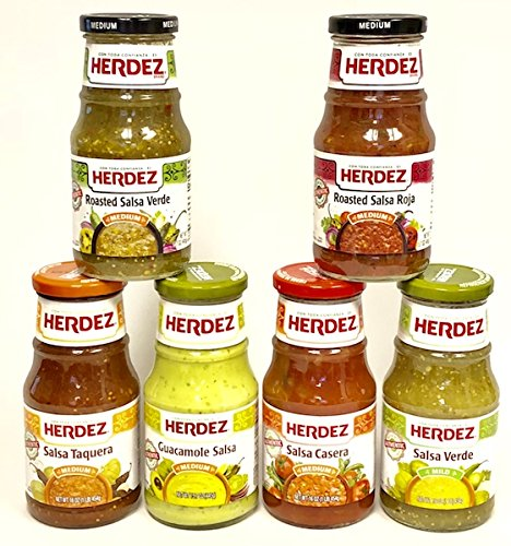 Herdez Salsas Gift Pack Assorted Flavors - 6 Items