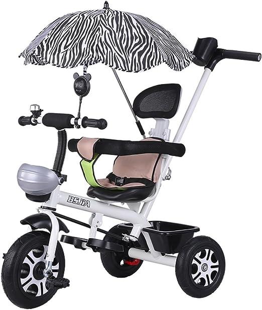 ZELIAN Triciclo para Niños Bicicleta 1-3 Carrito para Niños ...