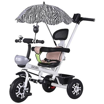 ZELIAN Triciclo para Niños Bicicleta 1-3 Carrito para Niños Hombres ...