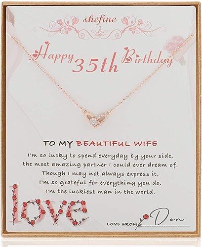 Amazon.com: Regalo de cumpleaños para esposa de 35 años ...