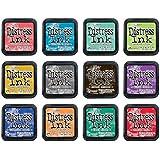Ranger - 12 Color of the Month 2015 - Tim Holtz - Distress Ink Pad Bundle