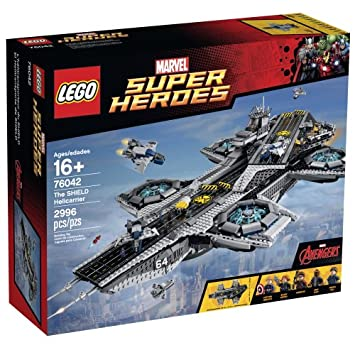 LEGO Marvel Super Heroes 76042 The SHIELD Helicarrier $299.99 at  amazon.com + FS online deal