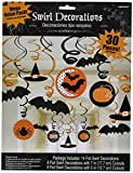 Modern | Witches and Bats | Halloween Swirl Decoration
