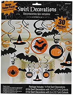 Modern | Witches and Bats | Halloween Swirl Decoration (B00LY9VVRW) | Amazon Products