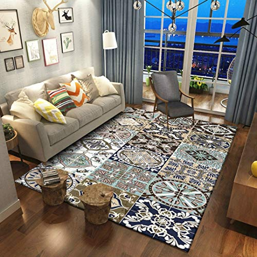 Bohemian Style Geometric Large Rugs and Carpets Living Room Floor Mat Sofa Bedroom Blanket Bedside Area Rugs