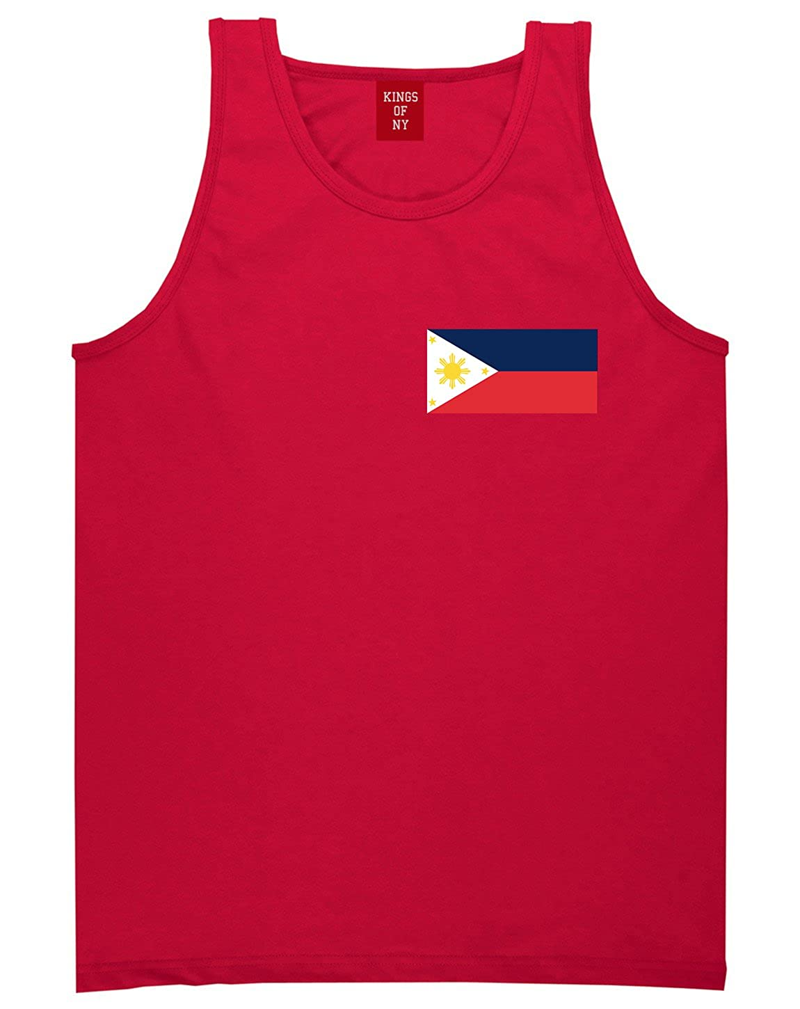 Philippines Flag Country Chest Tank Top Shirt