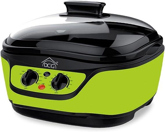 MB2400 Robot de cocina multicocción DCG 8 funciones en 1 capacidad de 5 LT - Verde: Amazon.es: Hogar