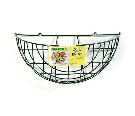 Nortene Botanico Standard Wire Wall Basket Amazon Co Uk Garden
