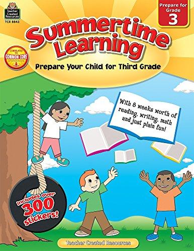Summertime Learning: Preparing Your Child for Grade 3