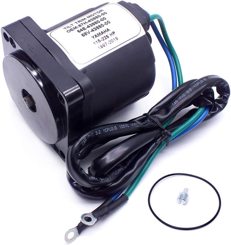 OVERSEE 67H-43880 Power Trim Tilt Motor for Yamaha Outboard Motor 67H-43880 64E-43880 64E-43880-00 115-225 HP