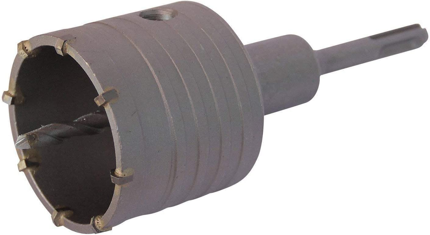 5 Schneiden Bohrkrone Dosenbohrer SDS Plus 30-160 mm Durchmesser komplett f/ür Bohrhammer 40 mm SDS Plus 160 mm