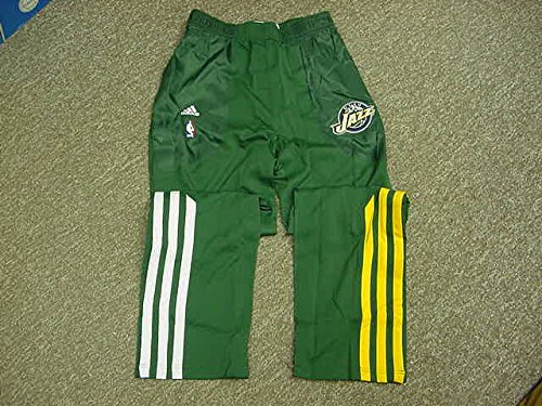 - Al Jefferson Utah Jazz 2011-12 Game Worn Warm-up Pants
