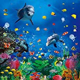 Ouyida 10X10FT Undersea paradise Pictorial cloth Customized photography Backdrop Background studio prop TD35