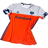 243350d6278 adidas Official KNHB Netherlands Replica Kids Junior Hockey World Cup Home  Jersey Top Tee Shirt
