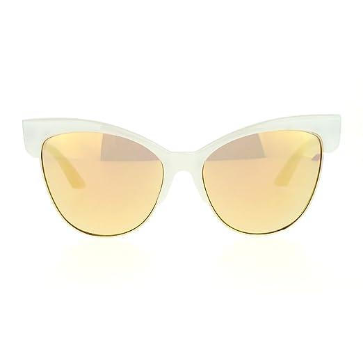 ab0e341815 Amazon.com  Oversized Cateye Butterfly Sunglasses Womens Fashion ...