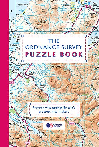 The Ordnance Survey Puzzle Book: Pit your wits against Britain's greatest...