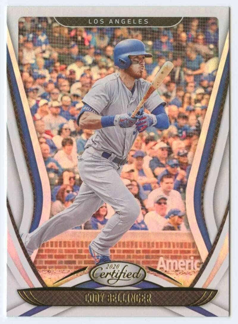 2020 Panini Chronicles Certified Baseball #21 Cody Bellinger Los Angeles Dodgers Official MLB PA Trading Card From Panini America in Raw (NM or Better) Condition