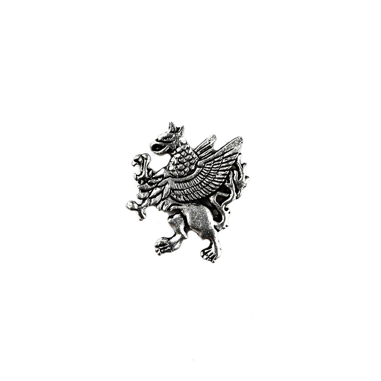 Quality Handcrafts Guaranteed Griffin Lapel Pin