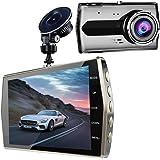 Dashcam Auto Dash Kamera Autokamera ULYCOOL Full HD 1080P mit 170° Weitwinkelobjektiv, 3 Zoll LCD, G-Sense, WDR, 6G Lens, Loop-Aufnahme, Bewegungserkennung, Parkmonitor, SD-Karte Nicht Enthalten