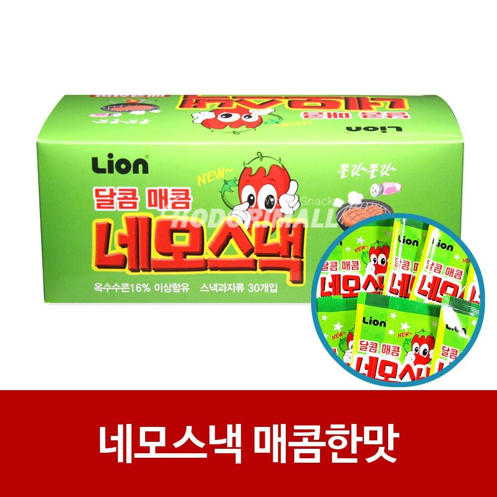 Nemo Snack Square Spicy Flavour 15g x 360 by Lion (Image #1)