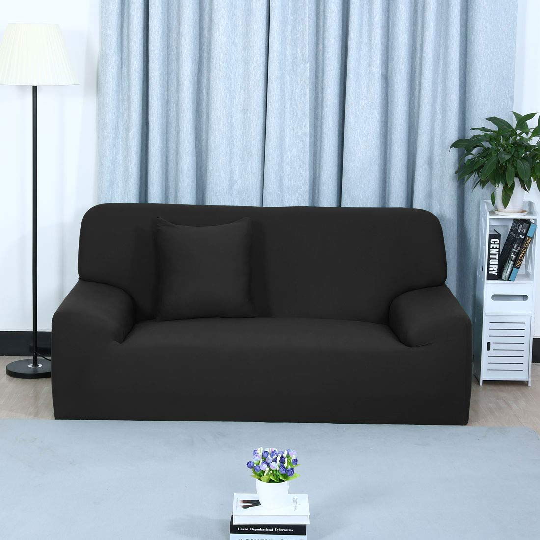 sourcing map Cubierta de sofá Casa Muebles Sillas Amantes de Sentarse Sofa Protector