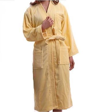 a452cf4581 Men Women Unisex Towelling Bathrobe Dressing Gown Fleece Lougewear ...