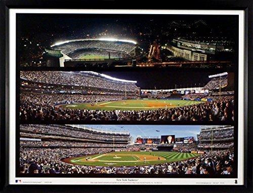 New York Yankees New & Old Yankee Stadium Triple Panoramic