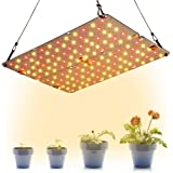 Dommia LED Grow Light Panel for Indoor Plants, 20W DIY Plant Lights with Red & Warm White Full Spectrum, Ultra Thin Grow…
