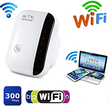 WiFi Blast Wireless Repeater Wi-Fi Range Extender 300Mbps WifiBlast Amplifier US