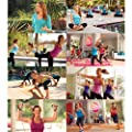 baladea Fitness and Wellness System includes 8 Workout DVDs