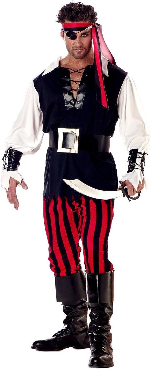 B000GL1EGW Adult Sized Cutthroat Pirate Costume 61ahGHzIHbL