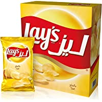Lays Salt Potato Chips 23 gm x 14