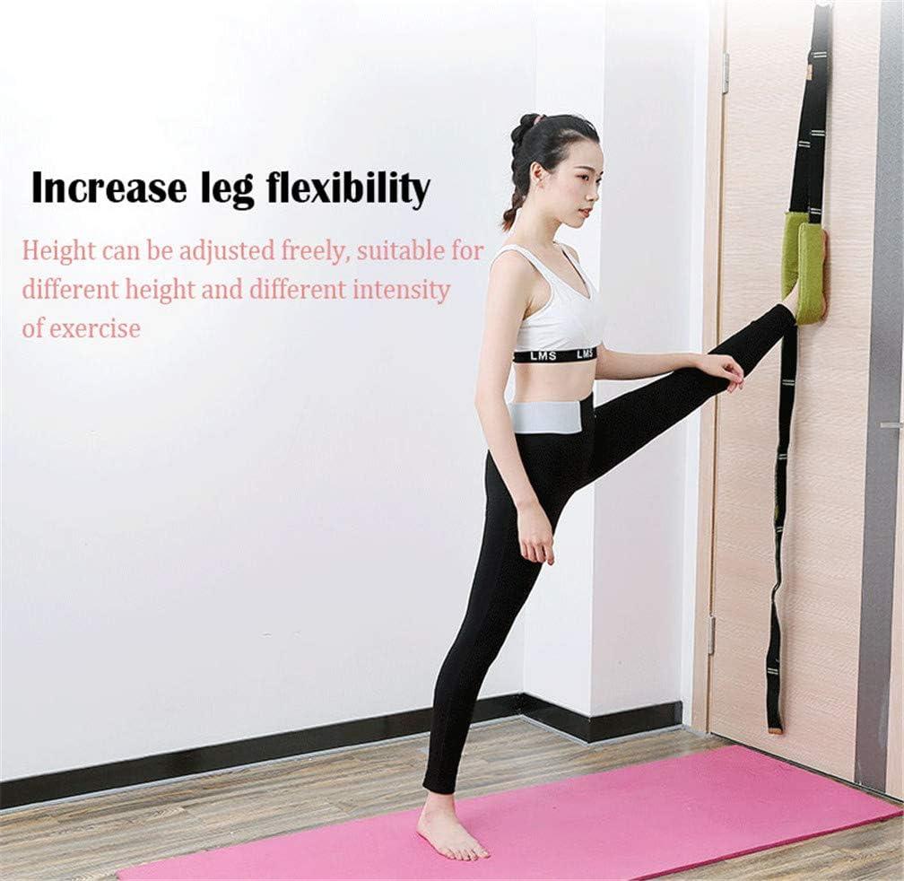 Back Bend Assist Trainer Improve Leg Waist and Back Flexibility Door Flexibility Stretching Strap for Rehab Pilates Ballet Cheerleading Splits Gymnastics Manco Luella Yoga Fitness Stretching Strap