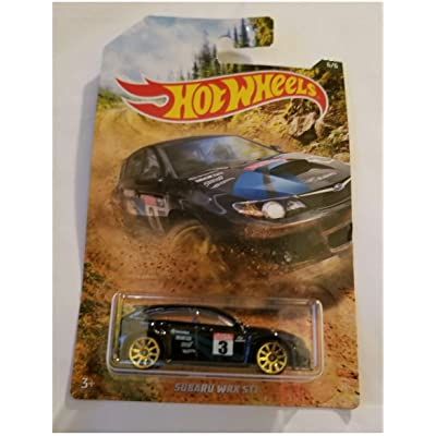 Hot Wheels Subaru WRX STI Car 2020 1:64 6/6: Toys & Games