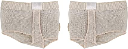 2Pcs Ballet Cover Foot Forefoot Toe Undies Thong Belly Dance Half Lyrical Shoes