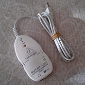 Behringer Guitar Link - Interfaz USB para guitarra eléctrica ...