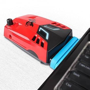 Pine Enfriador para portátil,refrigerador de vacío portátil con Extractor de Aire Super,Enfriador de Juego CPU Cooling rápido para 14 Pulgadas a portátil DE ...
