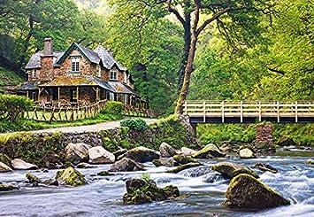 Englisches Cottage puzzle 1000 teile englisches cottage castorland exmoor national
