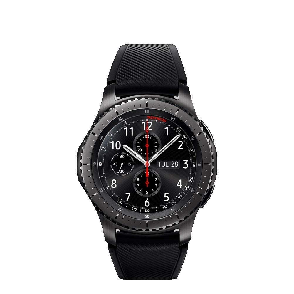 Gear S3 Frontier SM-R760 Smartwatch, Worldwide Version, USA Plug Included + 1 Year Extended Warranty