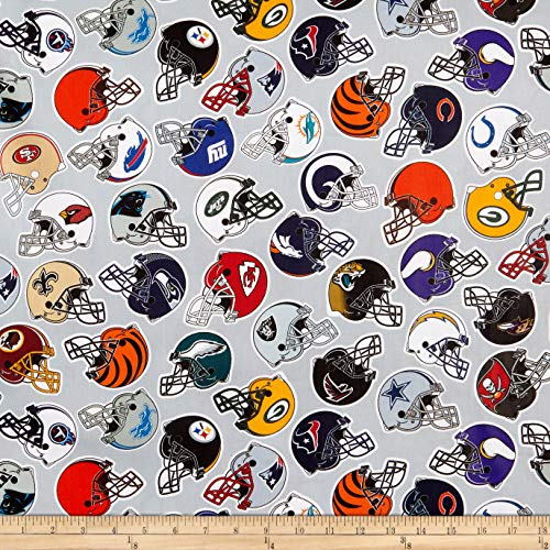 - Traditions NFL Cotton Broadcloth All Teams Multi, Fabric by the Yard