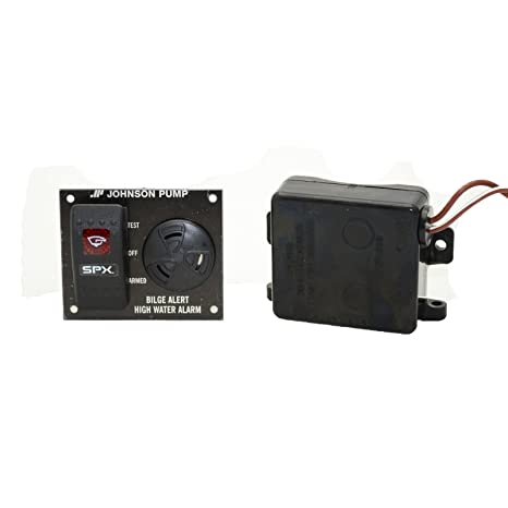 buy johnson pumps 72303-001 bilge alert high water alarm with ultima  switch, 12v online at low prices in india - amazon in