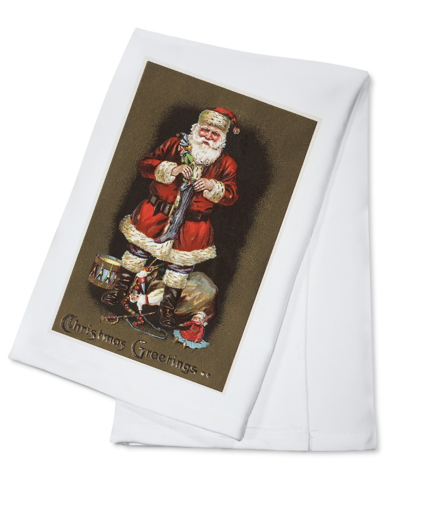 Christmas Greetings – Santa詰め物ストッキングwith Nutcracker Canvas Tote Bag LANT-10567-TT Bag Cotton Nutcracker B0184BBR4E Cotton Towel Cotton Towel, ピアノ専門店ピアノパワーセンター:b97a7a70 --- rdtrivselbridge.se