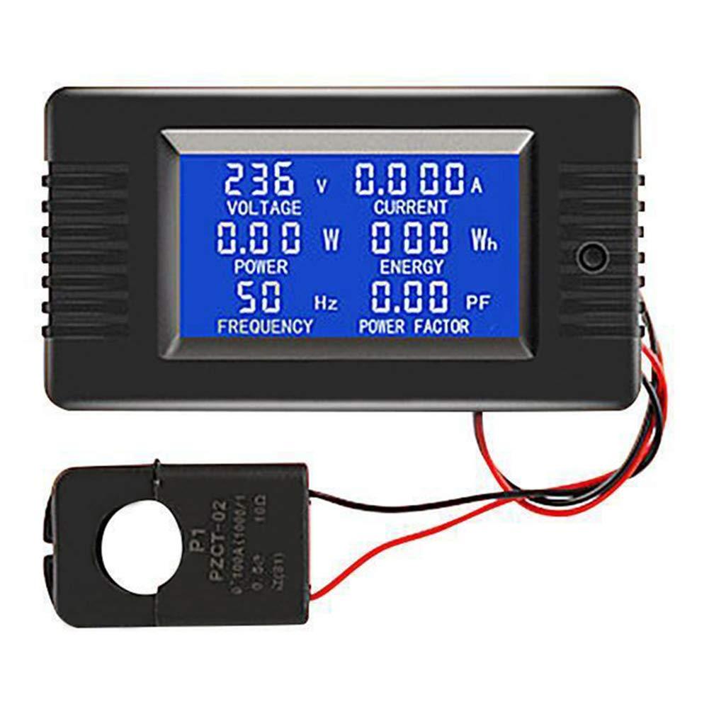 Misuratore di Potenza Digitale 100A AC voltaggio Curvo Msleep PZEM-022
