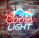 Urby™ 17''x14'' CL Beer M ountain Custom Handmade Glass Tube Neon Light Sign 3-Year Warranty-Unique Artwork! HL184