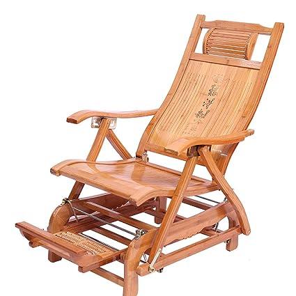 Fabulous Amazon Com Folding Lounge Chair Deck Chair Bamboo Chair Inzonedesignstudio Interior Chair Design Inzonedesignstudiocom