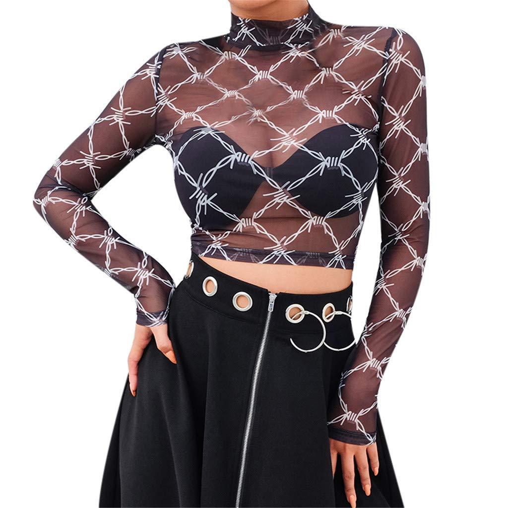 kingfansion Vest Tops for Women Sexy Hollow Short Crop Tops Printed Yoga Sports Bra Underwear Tops Black