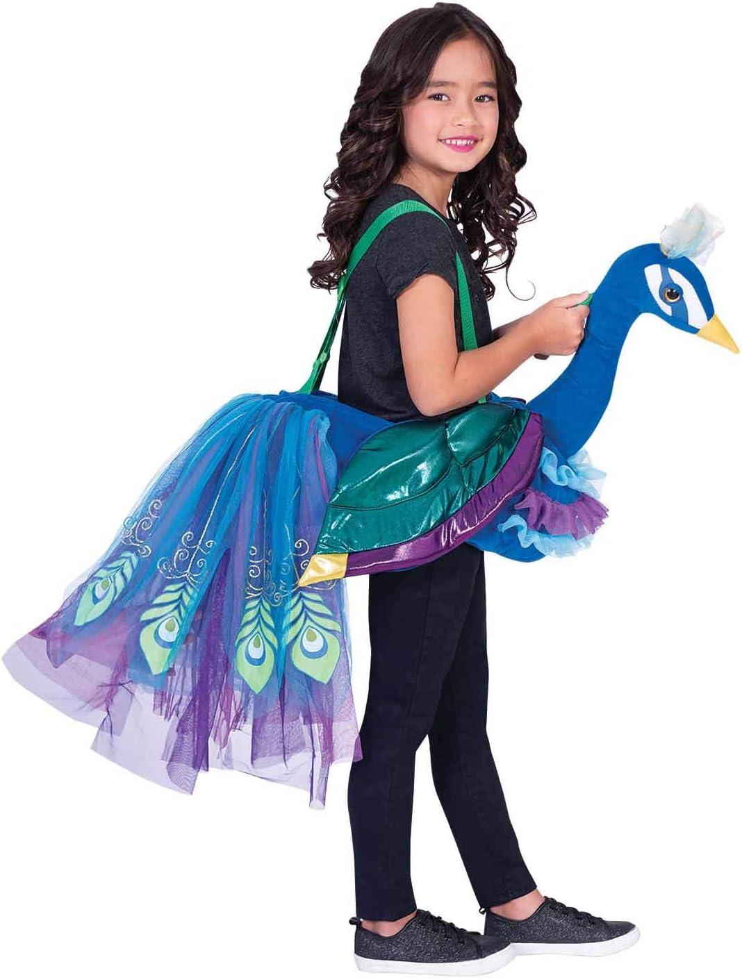 amscan RPE - Disfraz infantil de pavo real para equitación (unisex ...